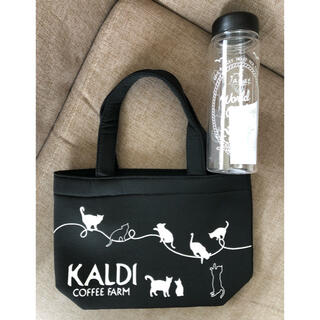 KALDI - カルディ ミニトート&クリアボトルセット KALDI