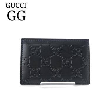 グッチ(Gucci)の☆極美品☆グッチ GG キャンパス カードケース(名刺入れ/定期入れ/パスケース(名刺入れ/定期入れ)