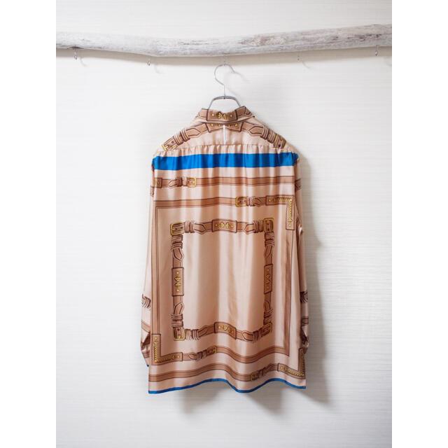 SUNSEA(サンシー)の【SUN/kakke】Scarf Silk-shirt メンズのトップス(シャツ)の商品写真