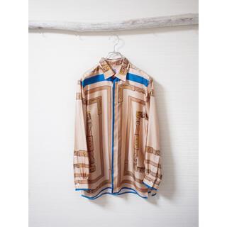 SUNSEA - 【SUN/kakke】Scarf Silk-shirt