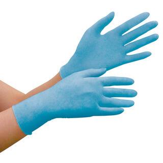 ミドリアンゼン(ミドリ安全)のニトリル手袋 ベルテ780 各サイズ  ニトリルグローブ パウダーフリー(日用品/生活雑貨)