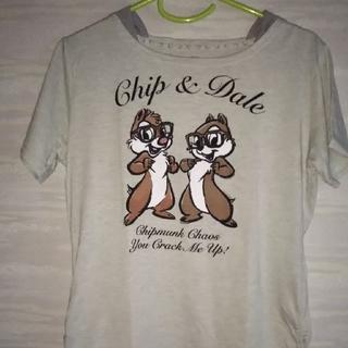⭐️Disney⭐️チップ&デール⭐️Tシャツ(Tシャツ(半袖/袖なし))