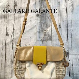 ガリャルダガランテ(GALLARDA GALANTE)の【GALLARD GALANTE】 ショルダーバッグ イエロー レディース(ショルダーバッグ)