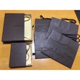 LOUIS VUITTON - LOUIS VUITTON ショップ袋4枚 & 空箱2箱  セット
