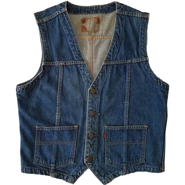 BIG JOHN(ビッグジョン)の日本製 Vintage BIG JOHN Denim Vest メンズのトップス(ベスト)の商品写真