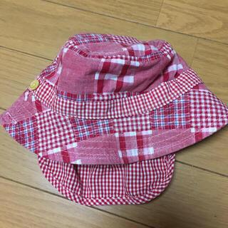 ニシマツヤ(西松屋)のチェック柄 帽子(帽子)