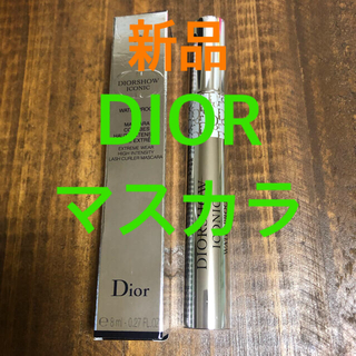Dior - 【新品・未使用】DIOR ディオール アイコニックウォータープルーフマスカラ 黒