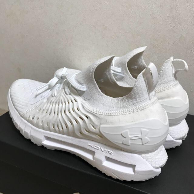 UNDER ARMOUR(アンダーアーマー)のアンダーアーマー ホバー ファントム RN 白 26.5cm❣️ メンズの靴/シューズ(スニーカー)の商品写真