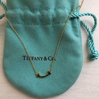 Tiffany & Co. - 最終価格‼︎値下げ ティファニー Tiffany T スマイル ミニ ネックレス