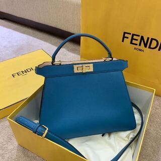FENDI - 新品同様【フェンディ】ピーカブー アイシーユー イーストウエスト ハンドバッグ