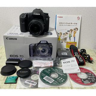Canon - キャノン Canon EOS 7D ズームレンズセット