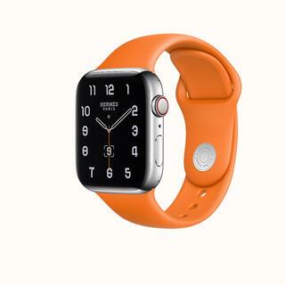 エルメス(Hermes)のApple Watch  エルメス シリコンバンド(腕時計)