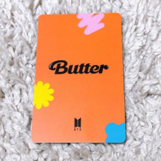 防弾少年団(BTS)(ボウダンショウネンダン)のBTS Butter ラキドロ トレカ テヒョン エンタメ/ホビーのCD(K-POP/アジア)の商品写真