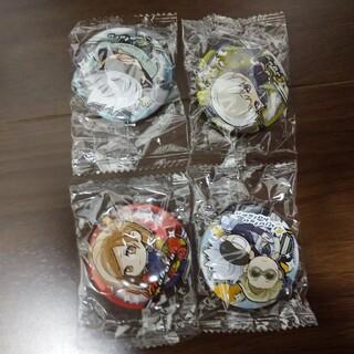 シュウエイシャ(集英社)の呪術廻戦 缶バッチ 五条悟 ほか 4個(バッジ/ピンバッジ)