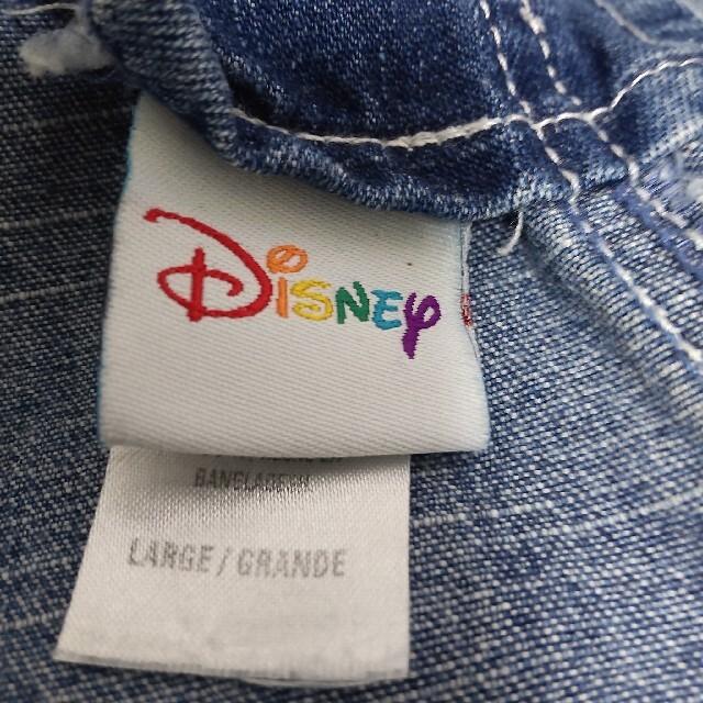 Disney(ディズニー)のDisney ディズニー ミッキー&ミニー刺繍 デニム オーバーオール メンズのパンツ(サロペット/オーバーオール)の商品写真