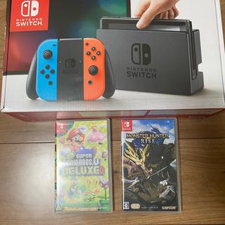 Nintendo Switch - ニンテンドースイッチ+ソフト2本