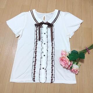 アクシーズファム(axes femme)のトップス(Tシャツ(半袖/袖なし))