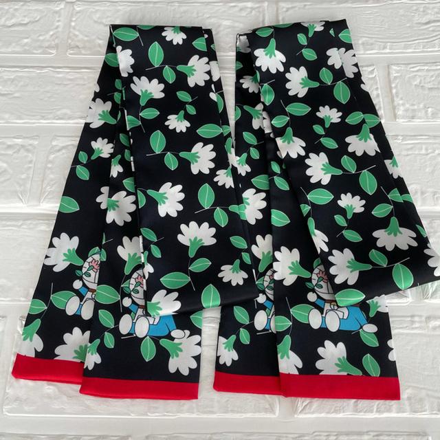 【はっちゃん様専用】 バッグスカーフ リボンスカーフ おまとめ レディースのファッション小物(バンダナ/スカーフ)の商品写真