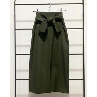 BLENHEIM ウエストリボンスカート