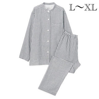 ムジルシリョウヒン(MUJI (無印良品))の新品   無印良品  脇に縫い目のない二重ガーゼスタンドカラーパジャマ (パジャマ)