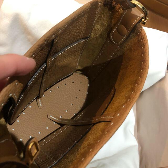 Hermes(エルメス)のsiwnin55様専用。超美品!Delvaux PIN MINI レディースのバッグ(ハンドバッグ)の商品写真