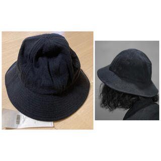 COMOLI - 新品未使用 comoli コモリ シルクハット 帽子 キャップ シャツ