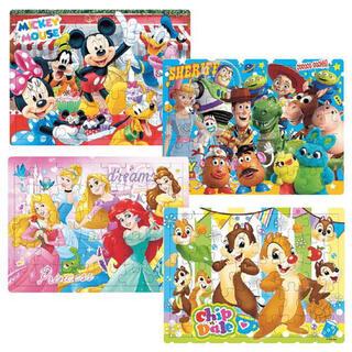 Disney - ディズニー パズル 4個 新品未使用