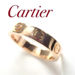 Cartier - カルティエ Cartier K18PG ミニラブリング 49号