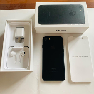 iPhone - iPhone7  32GB  BLACK  中古 綺麗です