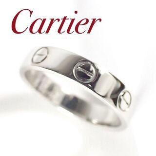 カルティエ(Cartier)のカルティエ Cartier Pt950 ミニラブリング 49号 プラチナ(リング(指輪))