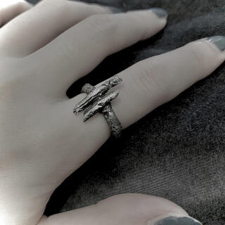 アンドゥムルメステール(Ann Demeulemeester)のシルバーリング(リング(指輪))
