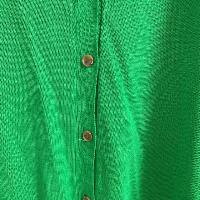 dholic(ディーホリック)のDHOLIC アクリルニットライトカーディガン グリーン レディースのトップス(カーディガン)の商品写真