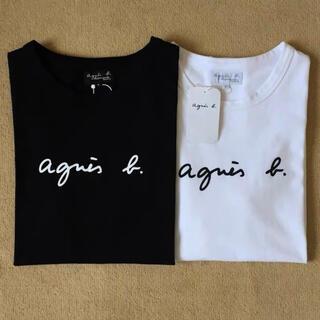 agnes b. - 【大人気商品・新品未使用品・タグ付き】アニエスベー Tシャツ 黒 白