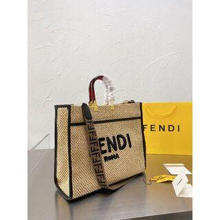 FENDI - 新品 FENDI ROMA サンシャイン トートバッグ ラージサイズ