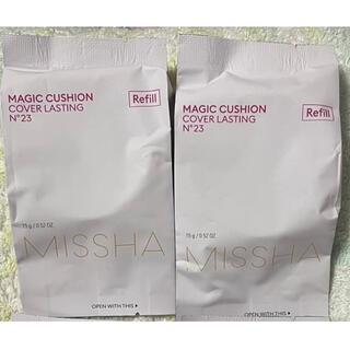 ミシャ(MISSHA)の【新品】ミシャ クッションファンデーション N23 カバー MISSHA(ファンデーション)