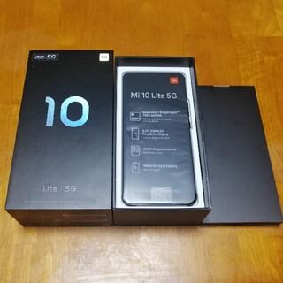 ANDROID - 新品未使用◆シャオミ Xiaomi Mi10Lite 5G SIMフリー