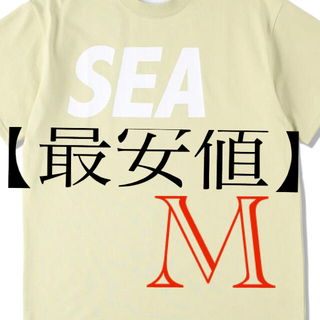 SEA - WIND AND SEA S/S T-SHIRT  parchment Mサイズ