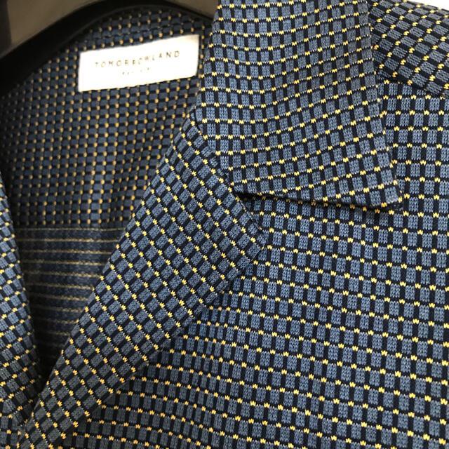 TOMORROWLAND(トゥモローランド)の【美品】TOMORROWLAND 半袖シャツ メンズのトップス(シャツ)の商品写真