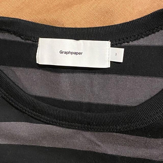 COMOLI(コモリ)のGraphpaper / Border S/S Tee メンズのトップス(Tシャツ/カットソー(半袖/袖なし))の商品写真