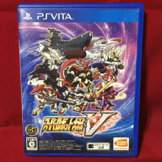 PlayStation Vita - 送料込 スーパーロボット大戦V 通常版 スパロボ Vita