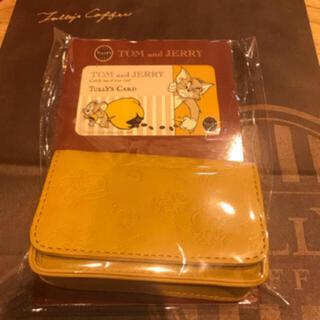 タリーズコーヒー(TULLY'S COFFEE)のTully's Coffee タリーズ トムとジェリー コラボ  カードケース(ノベルティグッズ)