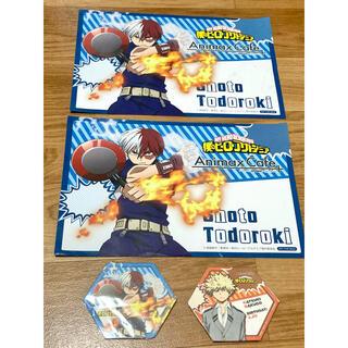 僕のヒーローアカデミア Animax Cafe ランチョンマット コースター