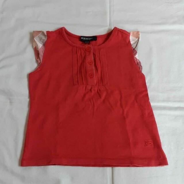BURBERRY(バーバリー)のバーバリー ノースリーブ セリーヌトップス 二枚セット キッズ/ベビー/マタニティのキッズ服女の子用(90cm~)(Tシャツ/カットソー)の商品写真