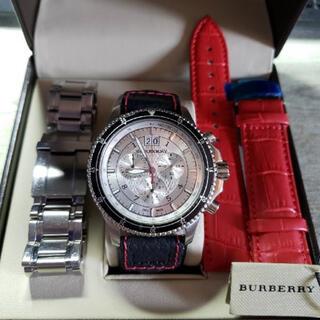 BURBERRY - 値段交渉可 BURBERRY バーバリー 腕時計 クロノグラフ BU7603