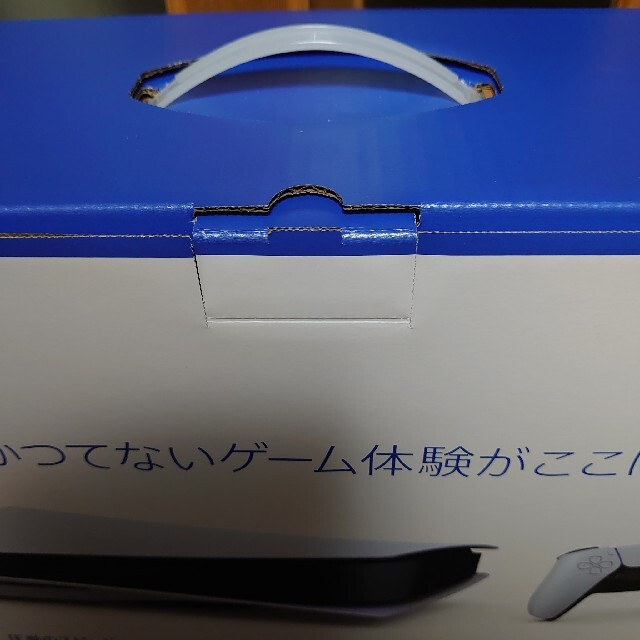 SONY(ソニー)のPS5  PlayStation5 ディスクドライブ搭載モデル 本体 新品、未開 エンタメ/ホビーのゲームソフト/ゲーム機本体(家庭用ゲーム機本体)の商品写真