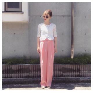 BEAUTY&YOUTH UNITED ARROWS - 6 ROKU♡GEORGETTE HIGH WAIST PANTSⅡ♡