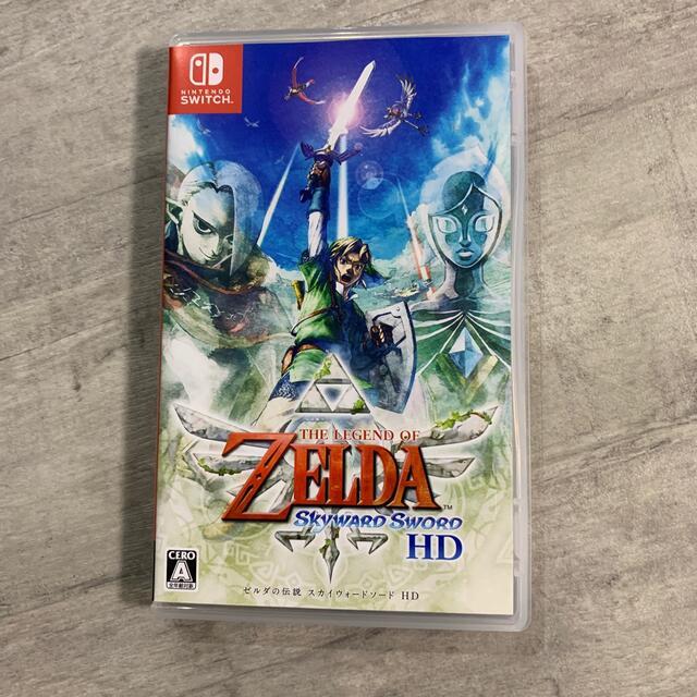 Nintendo Switch(ニンテンドースイッチ)のゼルダの伝説 スカイウォードソード HD Switch エンタメ/ホビーのゲームソフト/ゲーム機本体(家庭用ゲームソフト)の商品写真
