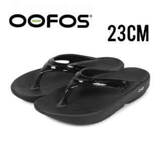【新品】OOFOS ウーフォス リカバリーサンダル 23cm