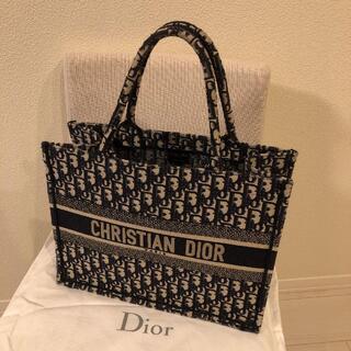 "Dior - DIOR BOOK TOTE ディオール オブリーク"" スモールバッグ 正規品"