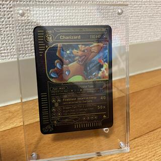ポケモン - ポケモンカード リザードン ブラックメタルカード 金属カード